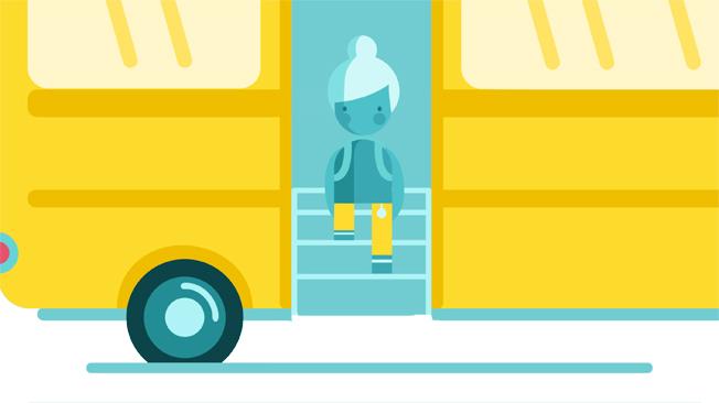 Buss- och kollektivtrafikbranschen har tagit fram ett nytt informationsmaterial för att göra resan till och från skolan tryggare.