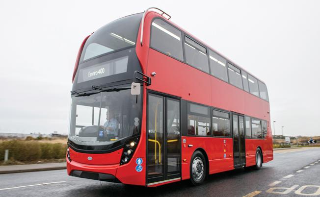 Den brittiska busstillverkaren ADL får lejonparten av Steagecoach´ order på omkring 480 nya bussar. Många av dem avser ADL Enviro 400. Bild: ADL.