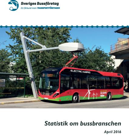 Sveriges Bussföretag presenterar nu sin årliga statistikrapport som belyser alla aspekter av bussbranschen.