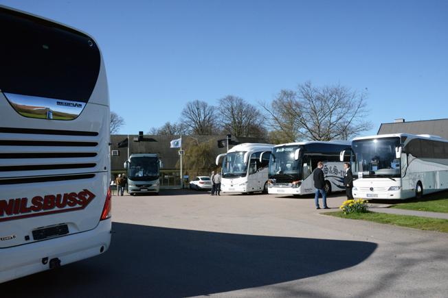 Trafiksäkerhet, paketresor och framtiden stod i fokus på Busstorgets andra dag. Och bussar, förstås…