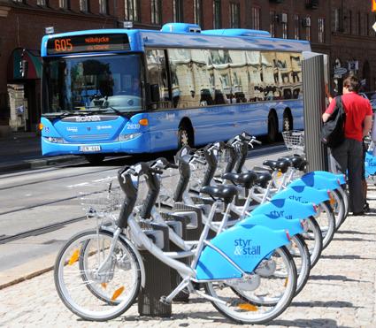 Västtrafik vill kunna erbjuda sina kunder en rad nya mobilitetstjänster. Foto: Ulo Maasing.