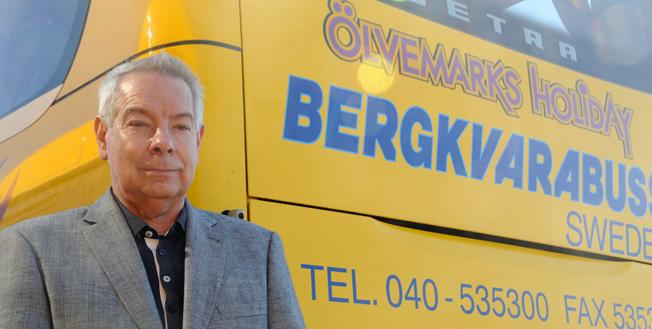 Största vinnare i Kalmar län: Bergkvarabuss med vd:n Göran Mellström. Foto: Ulo Maasing.