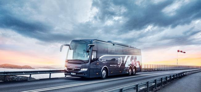 Volvo Bussar hade en rejäl uppgång under det första kvartalet när det gällde såväl orderingång som leveranser. Rörelseresultatet försvagades dock. Foto: Volvo Bussar.