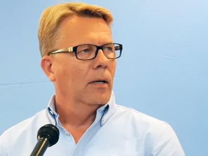 Jan Bosæeus, vd, Nobina Sverige för fram operatörsperspektiv på eldrift och energieffektivisering. Foto: Ulo Maasing.
