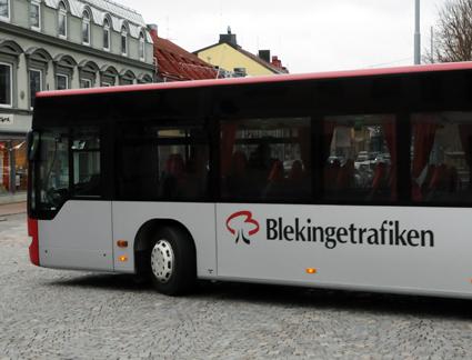 Bergkvarabuss köper kompletta realtidssystem till 130 bussar i Blekinge. Foto: Ulo Maasing.
