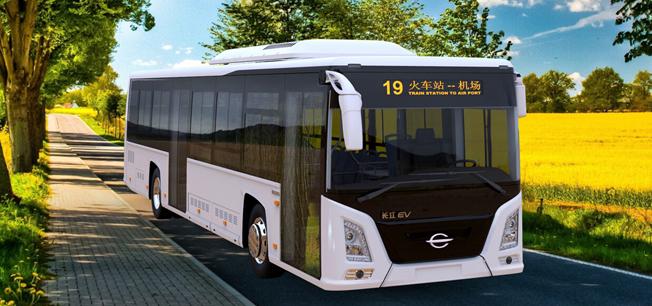 Inte helt olik Scania CityWide är kinesiska Changjiangs elbussmodell Zwero.