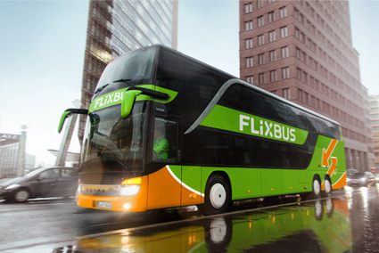 FlixBus´ nya design för hela Europa. Bild: FlixBus.