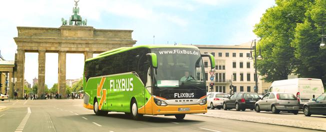 Tyska expressbussgiganten FlixBus inelder samarbete med Stagecoachmagnaten Brian Souters PolskiBus.com. Foto: FlixBus.
