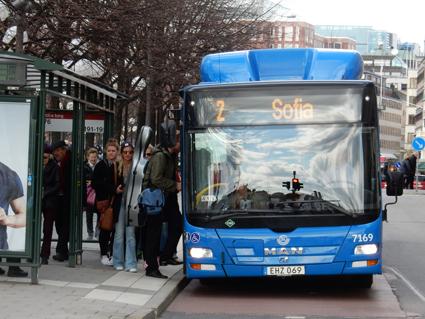 66 procent av bussarna i den uipphandlade kollektivtrafiken körs idag med förnyelsebara drivmedel. Men hur långsiktigt är regelverket? Foto: Ulo Mssding.