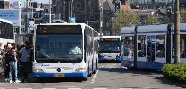 Den holländska regeringen har kommit överens med samtliga landets tolv provinser att alla nya bussar från 2025 ska vara utsläppsfria. Foto: Ulo Maasing.