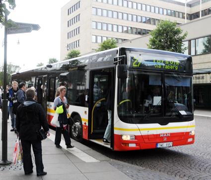 Resdandeökningen för stadsbussarna i Jönköping gör att en ny, stor bussdepå behövs. Foto: Ulo Maasing.