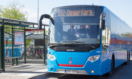 De västra delarna av Örebro län får i höst kraftigt utökad busstrafik. Foto: Länstrafiken Örebro.
