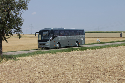 Dagens system för resegarantier håller inte, skriver Sveriges Bussföretag. Foto: Volvo Bussar.
