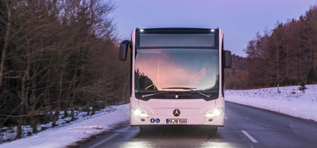 Mercedes-Benz blev största bussmärke i Sverige i april. Foto: Daimler Buses.