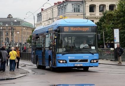 Trygghetsvärdar ombord önskar sig Liberalerna i Göteborg. Foto: Ulo Maasing.