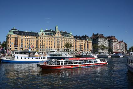 Turismen från utlandet till Sverige ökar. Foto: Ulo Maasing.