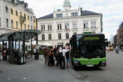 Spårväg inget alternativ, anser Uppsala handelskammare. Foto: Ulo Maasing.