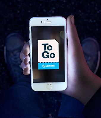 Västtrafiks app Västttrafik To Go har på kort tid blivit en succé. Bild: Västtrafik.