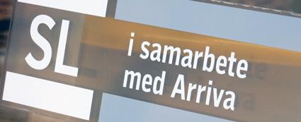 SL utreder Arriva. Foto: Ulo Maasing.