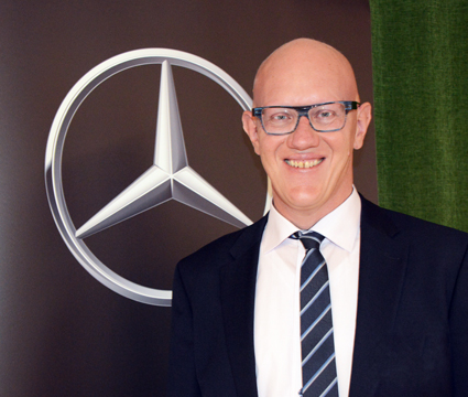 Thomas Tonger är chef för produktplanering vid Daimler Buses. I hans ansvarsområde ingår även alternativa drivlinor. Foto: Ulo Maasing.