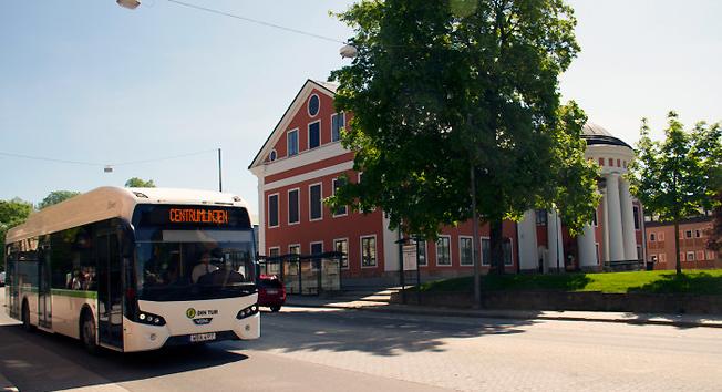 All busstrafik i Härnösands kommun är fossilfri sedan ett år tillbaka.