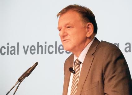 Andreas Renscheler, vd vör Volkswagen Truck & Bus: Vi står inför en revolution. Foto:Ulo Maasing.