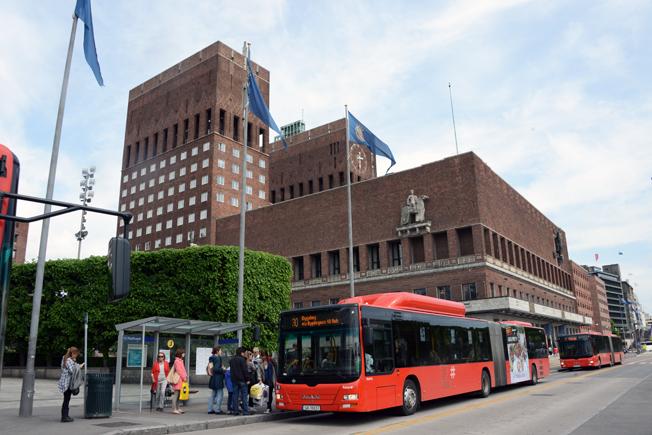 Ruter, som är trafikhuvudman för Oslo och Akershus, har avgjort en stor upphandling av busstrafik. Nobina vann en del av trafiken. Foto: Ulo Maasing.