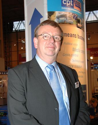 Steven Salmon, policychef vid den brittiska bussbranschens organisation CPT. Foto: Ulo Maasing.