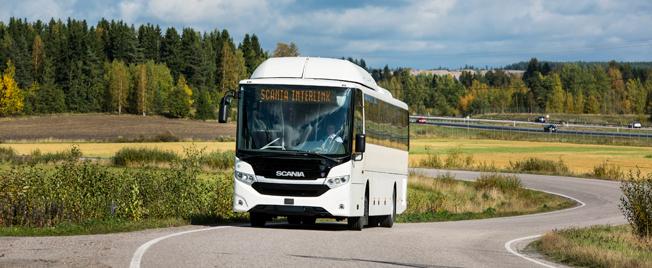 Scania rapporterar en ökad orderingång på bussar i Europa . Foto: Scania.