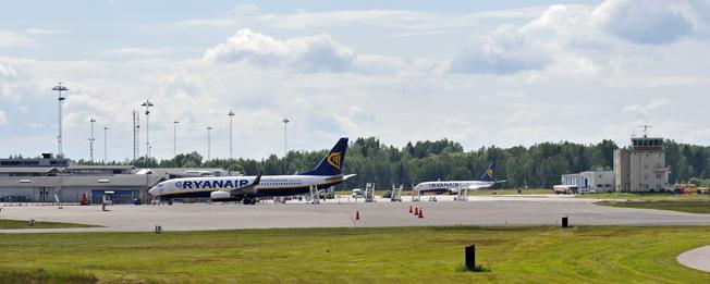 Skavsta flygplats. Foto: T S Eriksson/Wikimedia Commons.