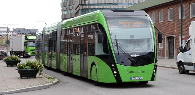 En andra linje för MalmöExpressen är ett av de projekt som får bidrag enligt stadsmiljöavtalen. Foto: Ulo Maasing.