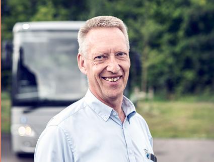 Hans Bäck, vd för StångåBuss som köper Ringarums Busstrafik.