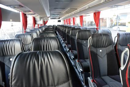 Komforten i de nya bussarna är avsevärt högre än i de bussar de ersätter. Foto: Ulo Maasing.