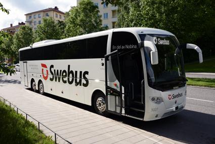 Swebus har under de senaste åren förnyat sin vagnpark. Foto: Ulo Maasing.