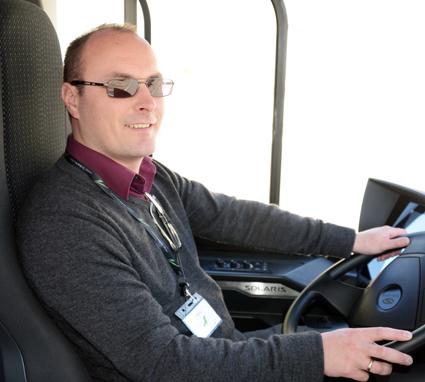 Tom Terjesen, redaktör för norska Bussmagasinet, har valts till ordförande för den internationella juryn för Bus of the Year och Coach of the Year. Foto: Ulo Maasing.