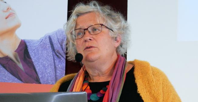"""Karin Brundell-Freij, WSP: """"Branschen ligger bra till på vögen mot målet men kostnaderna har ökat kraftigt"""". Foto: Ulo Maasing."""