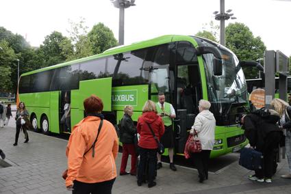 FlixBus har på bara några år vuxit till en jätte i europeisk expressbusstrafik. Företaget äger inga egna bussar utan bygger sin verkamhet på underentreprenörer. Foto: Ulo Maasing.