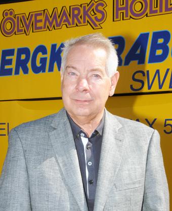 Göran Mellström, vd för Bergkvarabuss. Foto: Ulo Maasing.