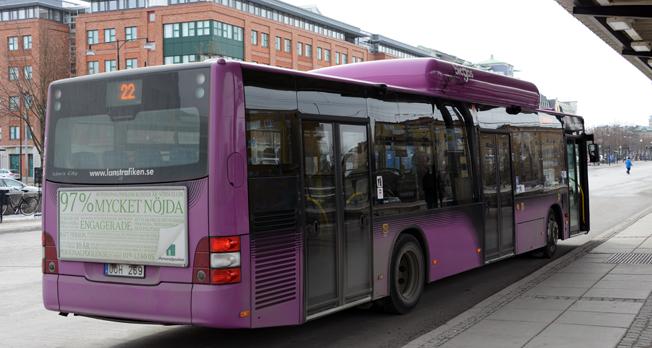 Stadsbussarna i Öfrebro kan i framtiden komma att köras i egen regi av regionen. Foto: Ulo Maasing.