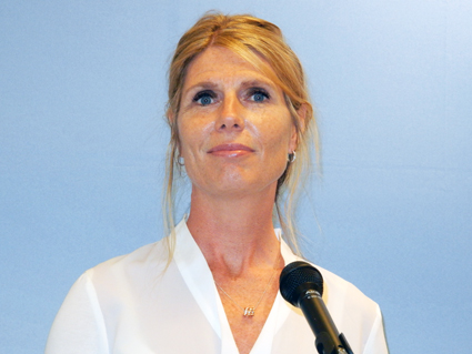 Cecilia Jerneheim, HR-direktör, Keolis i Sverige. Foto: Ulo Maasing.