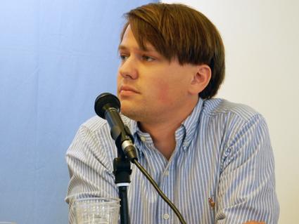 Oskar Taxén, jurist och utredare på Fackförbundet Kommunal. Foto: Ulo Maasing.