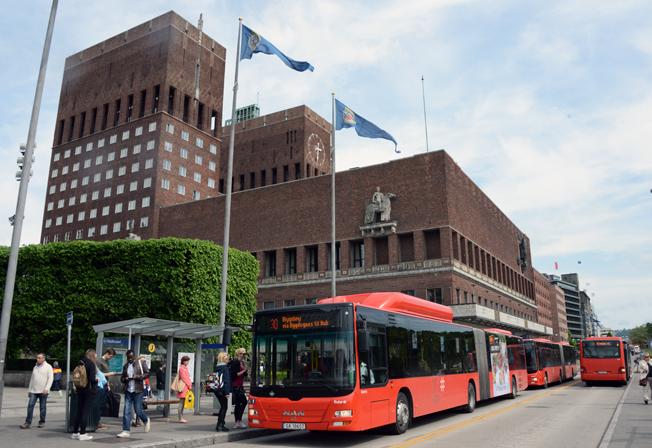 År 2020 inleder Oslo en storsatsning på elbussar. Foto: Ulo Maasing.