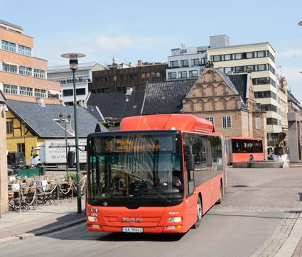 Inne i själva Oslo kommer elbussarna att utgöra omkring 60 procent av bussflottan. Foto: Ulo Maasing.