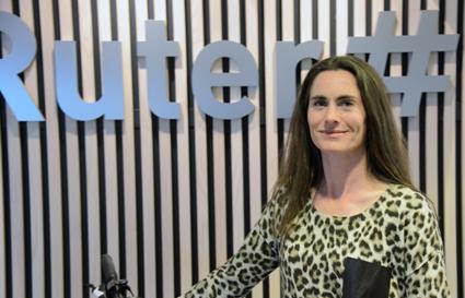 Pernille Aga är projektledare för Ruters övergång till fossilfri kollektivtrafik. Foto: Ulo Maasing.