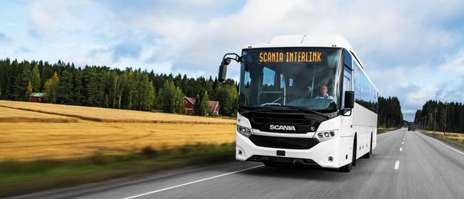 Scanias bussverksamhet hade en stark ökning av orderingången under det första halvåret. Foto: Scania.