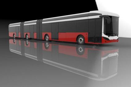 Elbusstillverkaren Sileo planerar att mot slutet av året lansera en 24-meters batteribuss. Bild: Sileo.