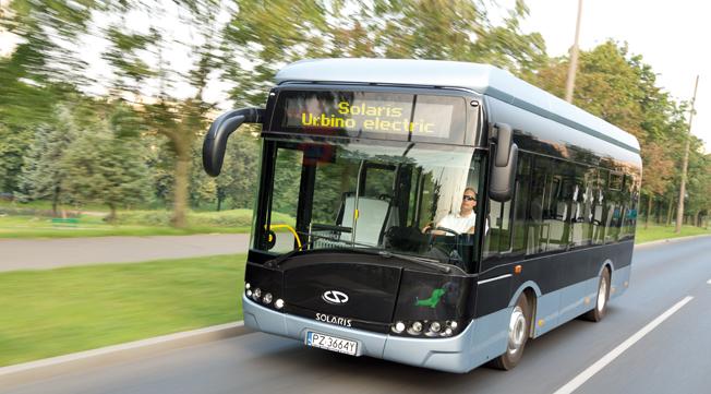 Solaris går samman med JBM Group i Indien för att sälja elbussar och hybridbussar på den indiska marknaden. Foto: Solaris.