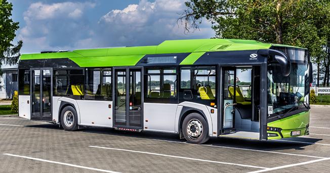 Bland de nyheter som Solaris kommer att visa på IAA-mässan finns nya Urbino 12 Hybrid. Foto: Solaris.
