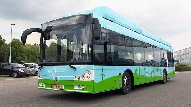 Polska Solbus har tillsammans med holländska HyMove levererat en första bränsecellsbuss till Holland. Flera regioner i landet planerar en storsatsning på bränslecellsbussar. Bild: HyMove.