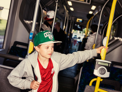 Allt fler väljer kollektivtrafiken unmder sommaren. Foto: Sv ensk Kollektivtrafik.